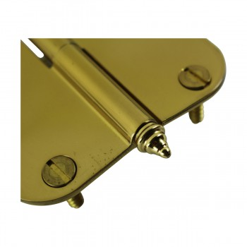 <PRE>Brass Lift Off Left Cabinet Hinge 3inch Radius Decor Tip </PRE>zoom7