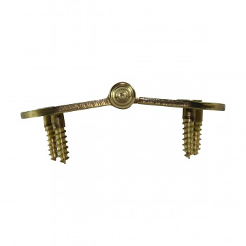 <PRE>Brass Lift Off Left Cabinet Hinge 3inch Radius Decor Tip </PRE>zoom9