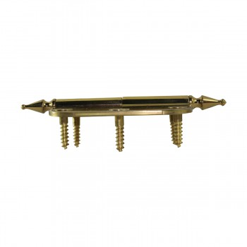 <PRE>Brass Lift Off Left Cabinet Hinge 3inch Radius Spire Tip </PRE>zoom8