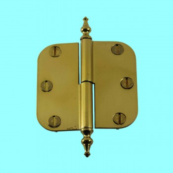 <PRE>Brass Lift Off Left Cabinet Hinge 3inch Radius Temple Tip </PRE>zoom2