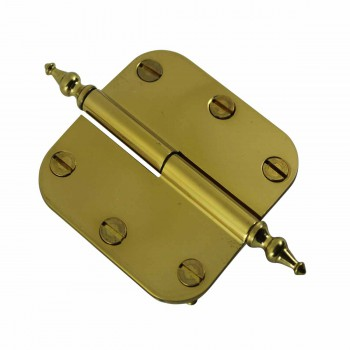 <PRE>Brass Lift Off Left Cabinet Hinge 3inch Radius Temple Tip </PRE>zoom4