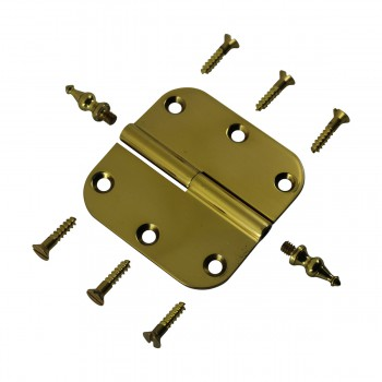 <PRE>Brass Lift Off Left Cabinet Hinge 3inch Radius Temple Tip </PRE>zoom6