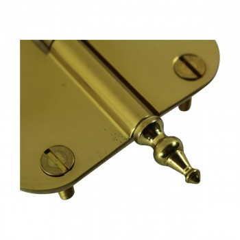 <PRE>Brass Lift Off Left Cabinet Hinge 3inch Radius Temple Tip </PRE>zoom7