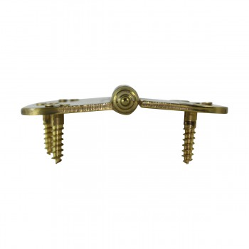 <PRE>Brass Lift Off Left Cabinet Hinge 3inch Radius Temple Tip </PRE>zoom8