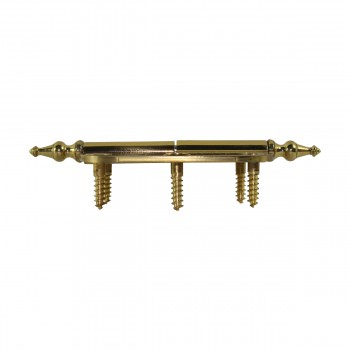 <PRE>Brass Lift Off Left Cabinet Hinge 3inch Radius Temple Tip </PRE>zoom9