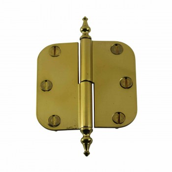 <PRE>Brass Lift Off Left Cabinet Hinge 3inch Radius Temple Tip </PRE>zoom1