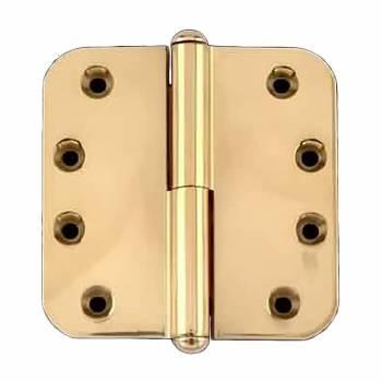 Brass Lift Off Left Door Hinge 4