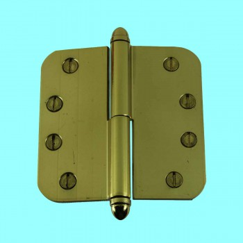 <PRE>Brass Lift Off Left Door Hinge 4inch Radius Helmet Tip </PRE>zoom2