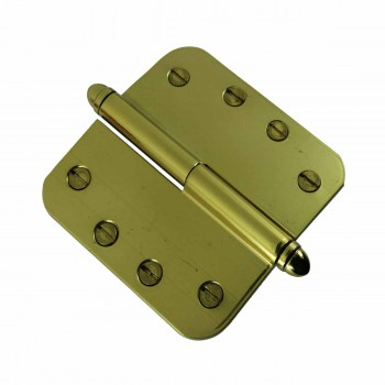 <PRE>Brass Lift Off Left Door Hinge 4inch Radius Helmet Tip </PRE>zoom4
