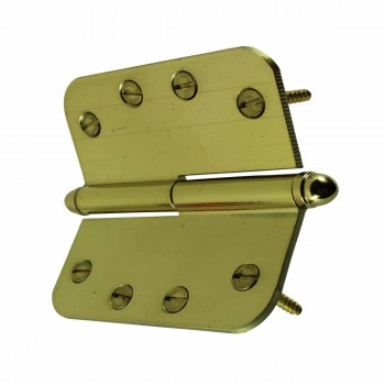 <PRE>Brass Lift Off Left Door Hinge 4inch Radius Helmet Tip </PRE>zoom5