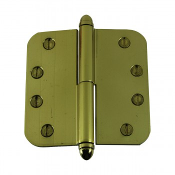 <PRE>Brass Lift Off Left Door Hinge 4inch Radius Helmet Tip </PRE>zoom9