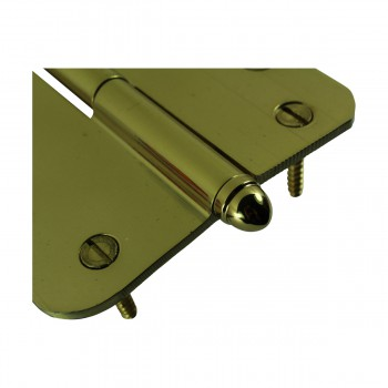 <PRE>Brass Lift Off Left Door Hinge 4inch Radius Decor Tip </PRE>zoom7