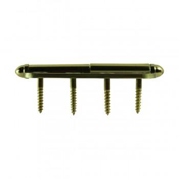<PRE>Brass Lift Off Left Door Hinge 4inch Radius Decor Tip </PRE>zoom8