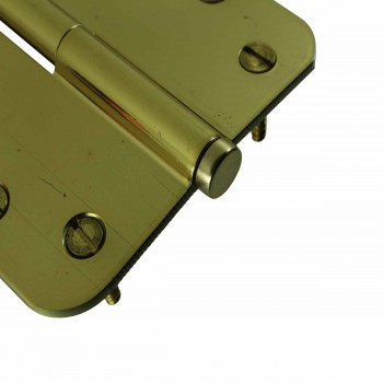 <PRE>Brass Lift Off Left Door Hinge 4inch Radius Coin Tip </PRE>zoom5