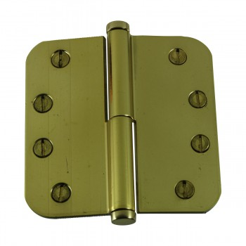 <PRE>Brass Lift Off Left Door Hinge 4inch Radius Coin Tip </PRE>zoom7