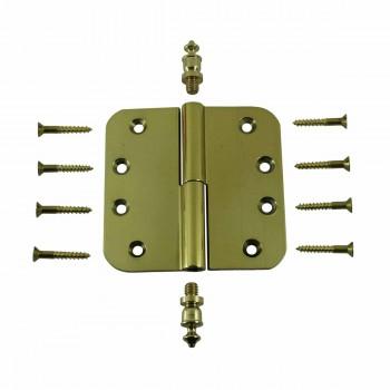 <PRE>Brass Lift Off Left Door Hinge 4inch Radius Urn Tip </PRE>zoom3