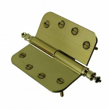 <PRE>Brass Lift Off Left Door Hinge 4inch Radius Urn Tip </PRE>zoom5