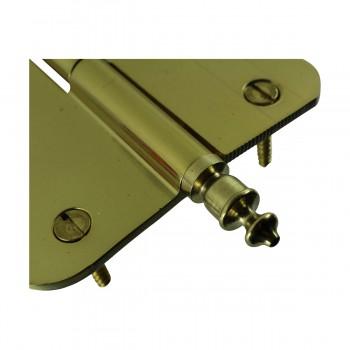 <PRE>Brass Lift Off Left Door Hinge 4inch Radius Urn Tip </PRE>zoom7