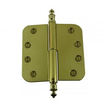 <PRE>Brass Lift Off Left Door Hinge 4inch Radius Urn Tip </PRE>zoom9