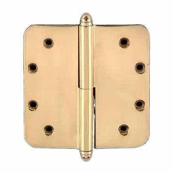 Brass Lift Off Left Door Hinge 5inch Radius Helmet Tip 14960grid