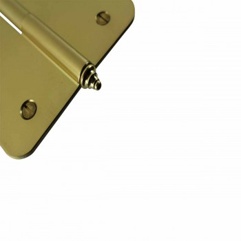 <PRE>Brass Lift Off Left Door Hinge 5inch Radius Decor Tip </PRE>zoom6