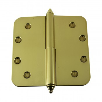 <PRE>Brass Lift Off Left Door Hinge 5inch Radius Decor Tip </PRE>zoom7