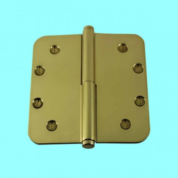 <PRE>Brass Lift Off Left Door Hinge 5inch Radius Coin Tip </PRE>zoom2