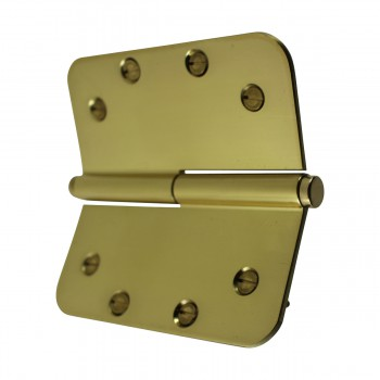 <PRE>Brass Lift Off Left Door Hinge 5inch Radius Coin Tip </PRE>zoom8