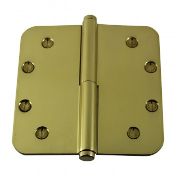 <PRE>Brass Lift Off Left Door Hinge 5inch Radius Coin Tip </PRE>zoom9