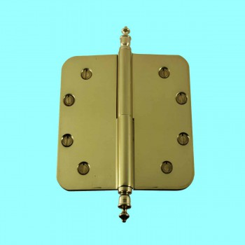 <PRE>Brass Lift Off Left Door Hinge 5inch Radius Urn Tip </PRE>zoom2