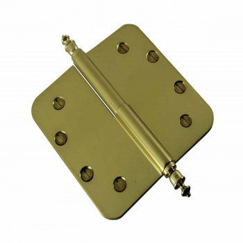 <PRE>Brass Lift Off Left Door Hinge 5inch Radius Urn Tip </PRE>zoom4