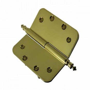 <PRE>Brass Lift Off Left Door Hinge 5inch Radius Urn Tip </PRE>zoom5