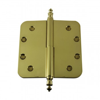 <PRE>Brass Lift Off Left Door Hinge 5inch Radius Urn Tip </PRE>zoom7