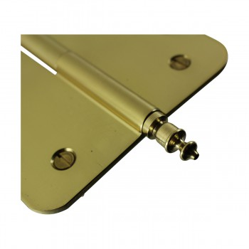 <PRE>Brass Lift Off Left Door Hinge 5inch Radius Urn Tip </PRE>zoom9