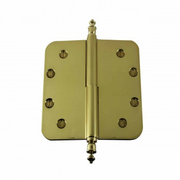 <PRE>Brass Lift Off Left Door Hinge 5inch Radius Urn Tip </PRE>zoom1