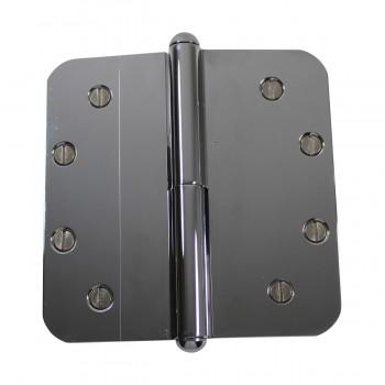 <PRE>5inch Lift Off Left Door Hinge Radius Chrome Button Tip  </PRE>zoom7
