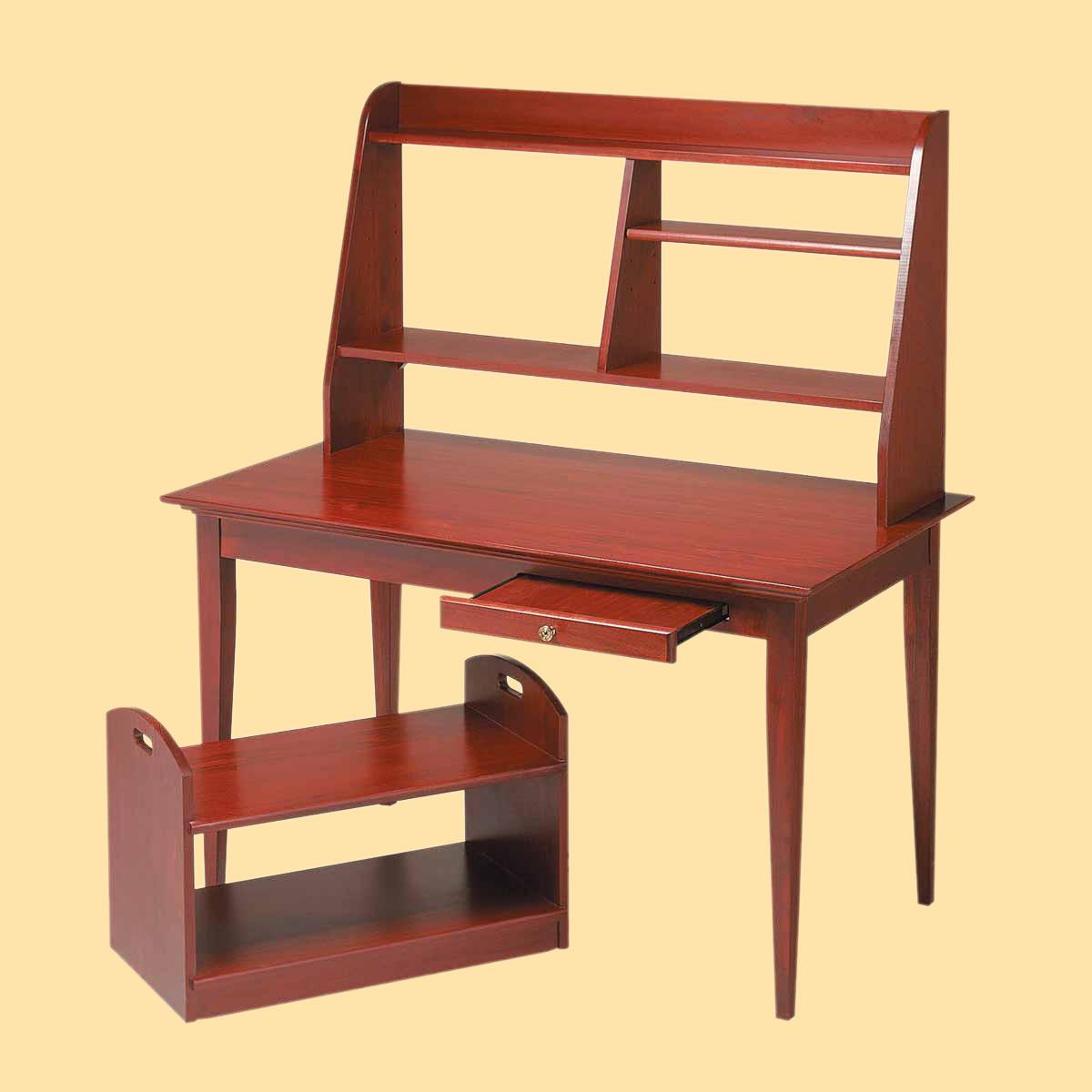 Computer Desk Cherry Stain Hardwood Office Desk