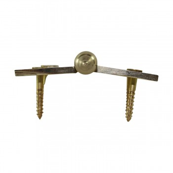 "<PRE>Lift Off Right Brass Cabinet Hinge 2inch x 2.5"" Steeple Tip </PRE>zoom8"
