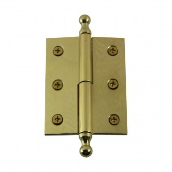 "<PRE>Bright Solid Brass 2inchx2.5"" Square LOR Hinge 97173/92143</PRE>zoom7"