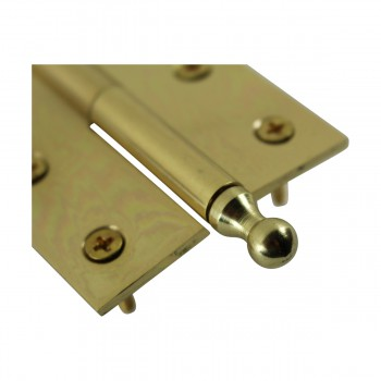"<PRE>Bright Solid Brass 2inchx2.5"" Square LOR Hinge 97173/92143</PRE>zoom10"