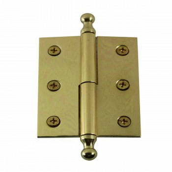 "<PRE>Bright Solid Brass 2inchx2.5"" Square LOR Hinge 97173/92143</PRE>"