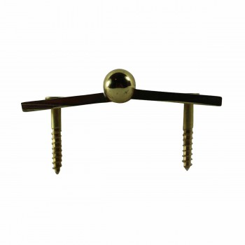 <PRE>Lift Off Right Brass Cabinet Hinge 2inch x 2.5&quot; Button Tip </PRE>zoom5