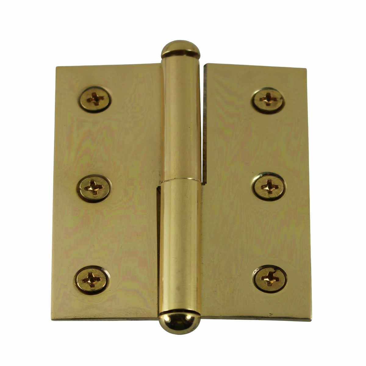 Lift Off Right Brass Cabinet Hinge 2 Quot X 2 5 Quot Button Tip