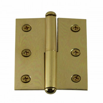 Lift Off Right Brass Cabinet Hinge 2