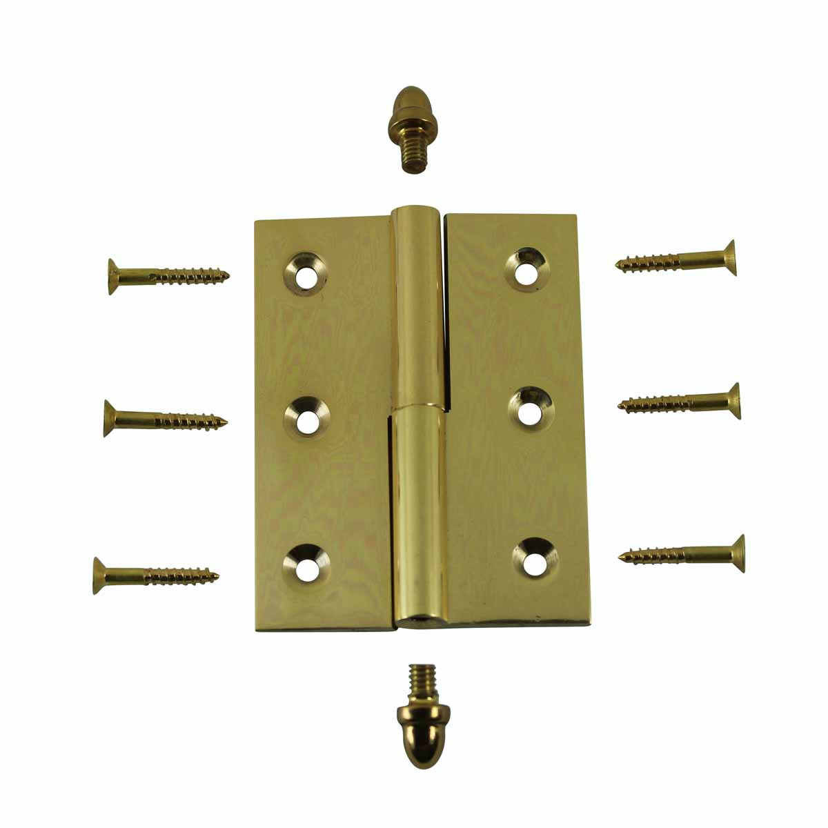 Lift Off Right Brass Cabinet Hinge 2in x 2.5in Helmet Tip Door Hinges Door Hinge Solid Brass Hinge