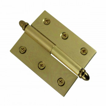 <PRE>Lift Off Right Brass Cabinet Hinge 2in x 2.5in Helmet Tip </PRE>