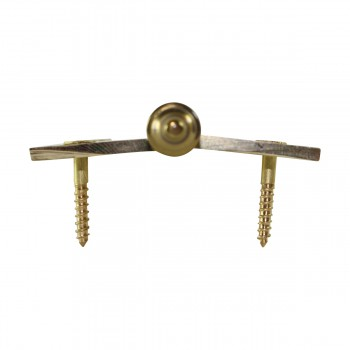 """<PRE>Lift Off Right Brass Cabinet Hinge 2inch x 2.5"""" Urn Tip </PRE>zoom7"""