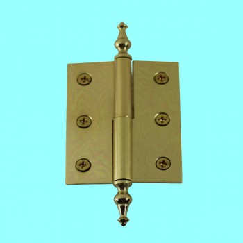"<PRE>Lift Off Right Brass Cabinet Hinge 2inch x 2.5"" Temple Tip </PRE>zoom2"