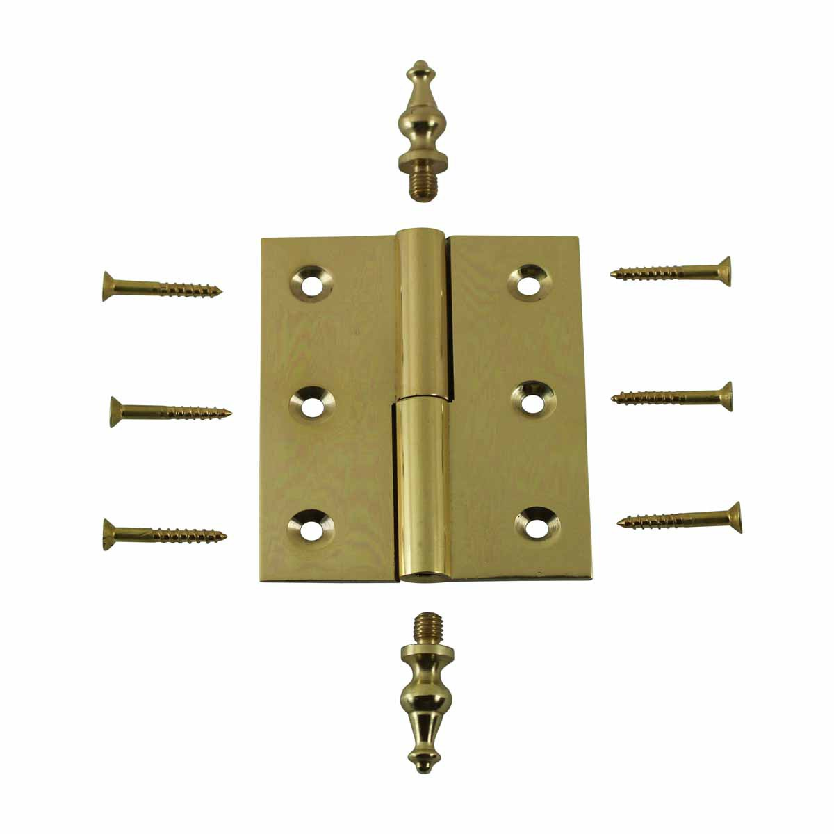Lift Off Right Brass Cabinet Hinge 2 x 2.5 Temple Tip Door Hinges Door Hinge Solid Brass Hinge