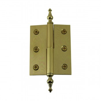 "<PRE>Lift Off Right Brass Cabinet Hinge 2inch x 2.5"" Temple Tip </PRE>zoom7"